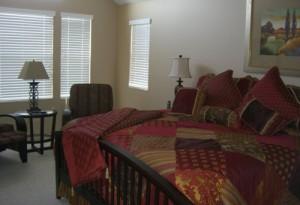 Beautiful Condo Bedroom